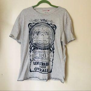 Levi's Grey Graphic T-shirt